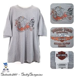 4XL Harley Davidson Colorado Springs USA MADE Tee